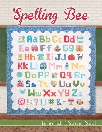 Quiltbuch- Spelling Bee