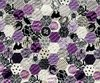 Halloween Stoff Hexagon