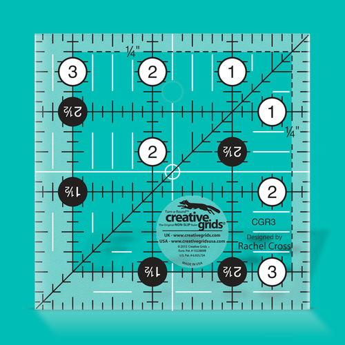 Creative Grids Lineal 3,5 x 3,5 inch