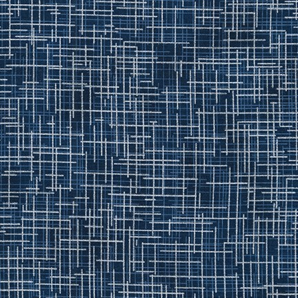 Stoff Quilters Linen Pearl blau