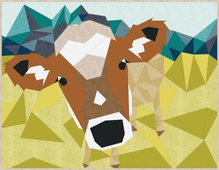 Cow Abstractions- Kuh Quilt