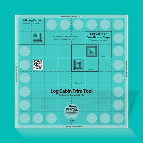 "Creative Grids 8"" Log Cabin Trim Tool"