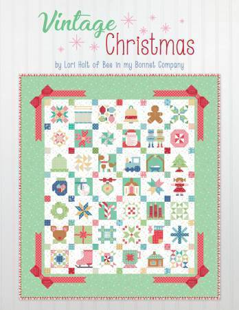 Quiltbuch- Vintage Christmas