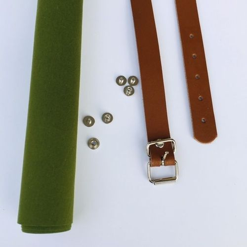 Field Belt - Kit cognac