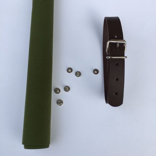 Field Belt - Kit dunkelbraun