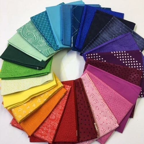 Fat Quarter Pack 24 regenbogen