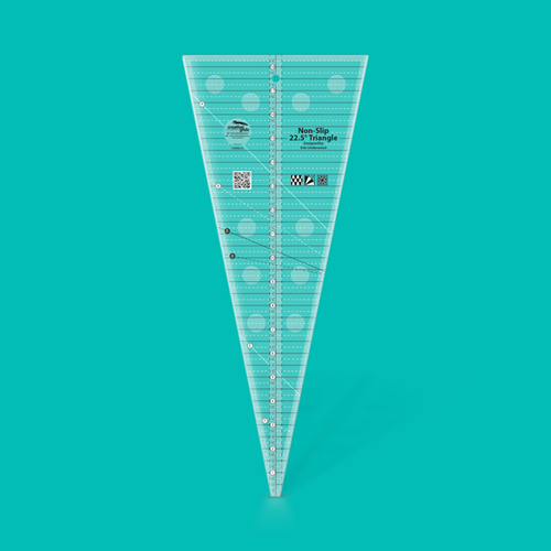 Creative Grids 22,5° Triangle Ruler groß
