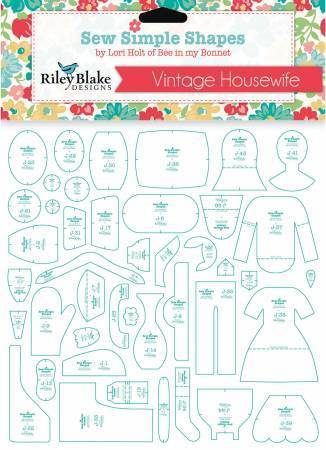 Sew simple shapes Vintage Housewife