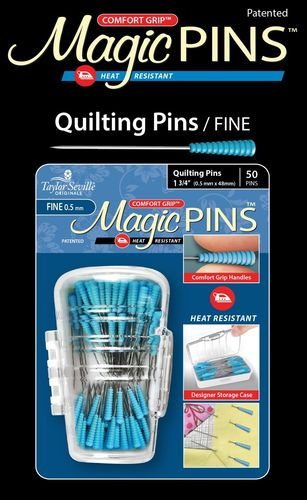 Stecknadeln- Magic Pins Quilting fein