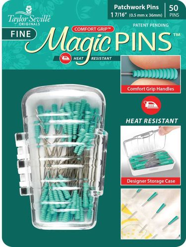 Stecknadeln- Magic Pins Patchwork fein