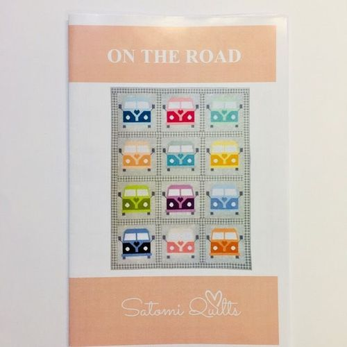 "Satomi Quilts  Schnitt ""On the Road"""