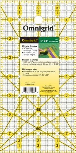 Omnigrid Quiltlineal 4 x 8 inch